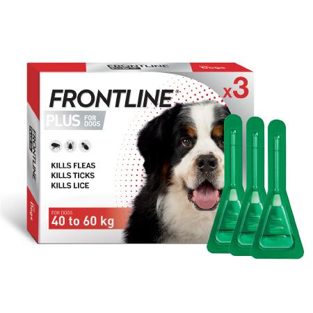 FRONTLINE PLUS for Dogs extra large